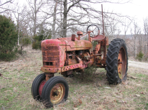Tractor old