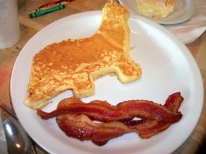 pancake dinosaur