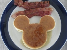 pancake mickey mouse