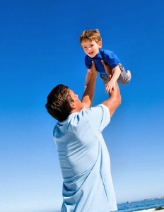 Tossing Child in Air